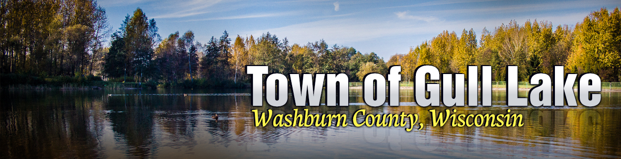 town of gull lake washburn county wisconsin official website of